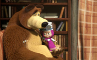 Masha and the Bear [15] wallpaper 1920x1080 jpg