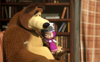 Masha and the Bear [15] wallpaper