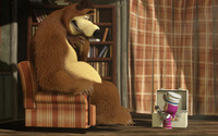 Masha and the Bear [28] wallpaper 1920x1080 jpg