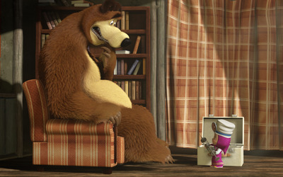 Masha and the Bear [28] wallpaper