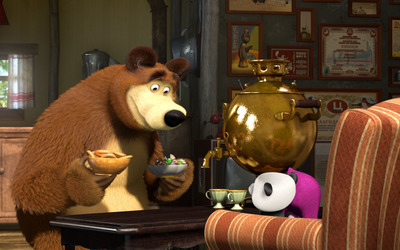 Masha and the Bear [21] wallpaper