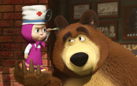 Masha and the Bear [3] wallpaper 1920x1080 jpg
