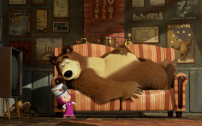 Masha and the Bear [5] wallpaper