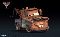 Mater - Cars 2 wallpaper 1920x1200 jpg