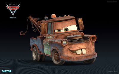 Mater - Cars 2 wallpaper