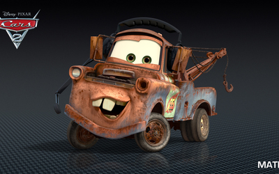 Mater - Cars 2 [2] wallpaper