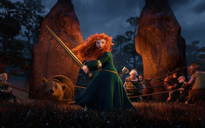 Merida - Brave [3] wallpaper