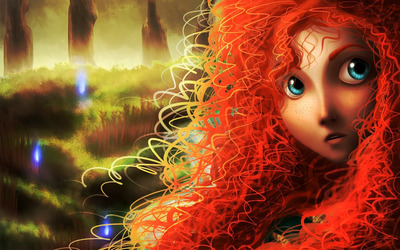 Merida - Brave wallpaper