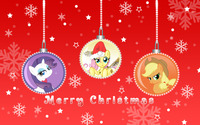 Merry My Little Pony Friendship is Magic Christmas [2] wallpaper 2880x1800 jpg