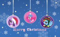 Merry My Little Pony Friendship is Magic Christmas wallpaper 2880x1800 jpg