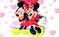 Mickey and Minnie wallpaper 1920x1200 jpg