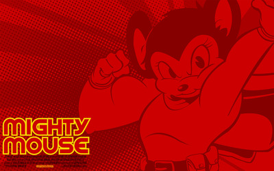 Mighty Mouse wallpaper