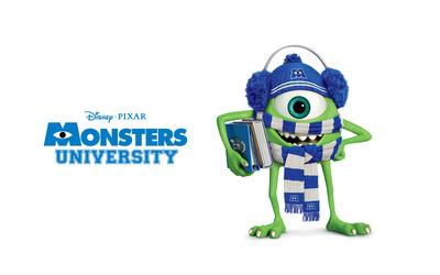 Mike Wazowski - Monsters University [2] wallpaper