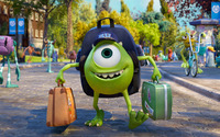 Mike Wazowski - Monsters University wallpaper 2560x1440 jpg