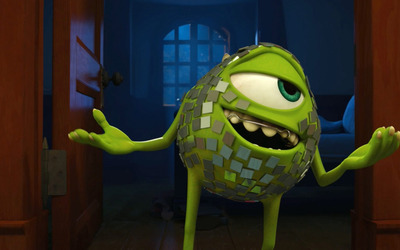 Mike Wazowski - Monsters University [4] wallpaper