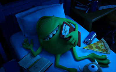 Mike Wazowski - Monsters University [3] wallpaper