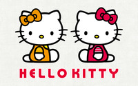 Mimmy White and Kitty White - Hello Kitty wallpaper 1920x1200 jpg