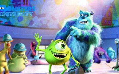 Monsters University [6] wallpaper