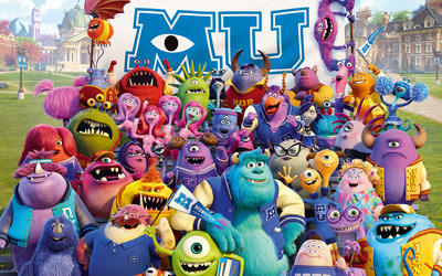 Monsters University [2] wallpaper