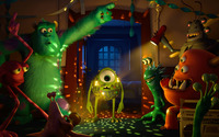 Monsters University [4] wallpaper 2880x1800 jpg