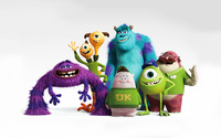 Monsters University wallpaper 1920x1200 jpg