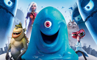 Monsters vs. Aliens wallpaper 2560x1440 jpg