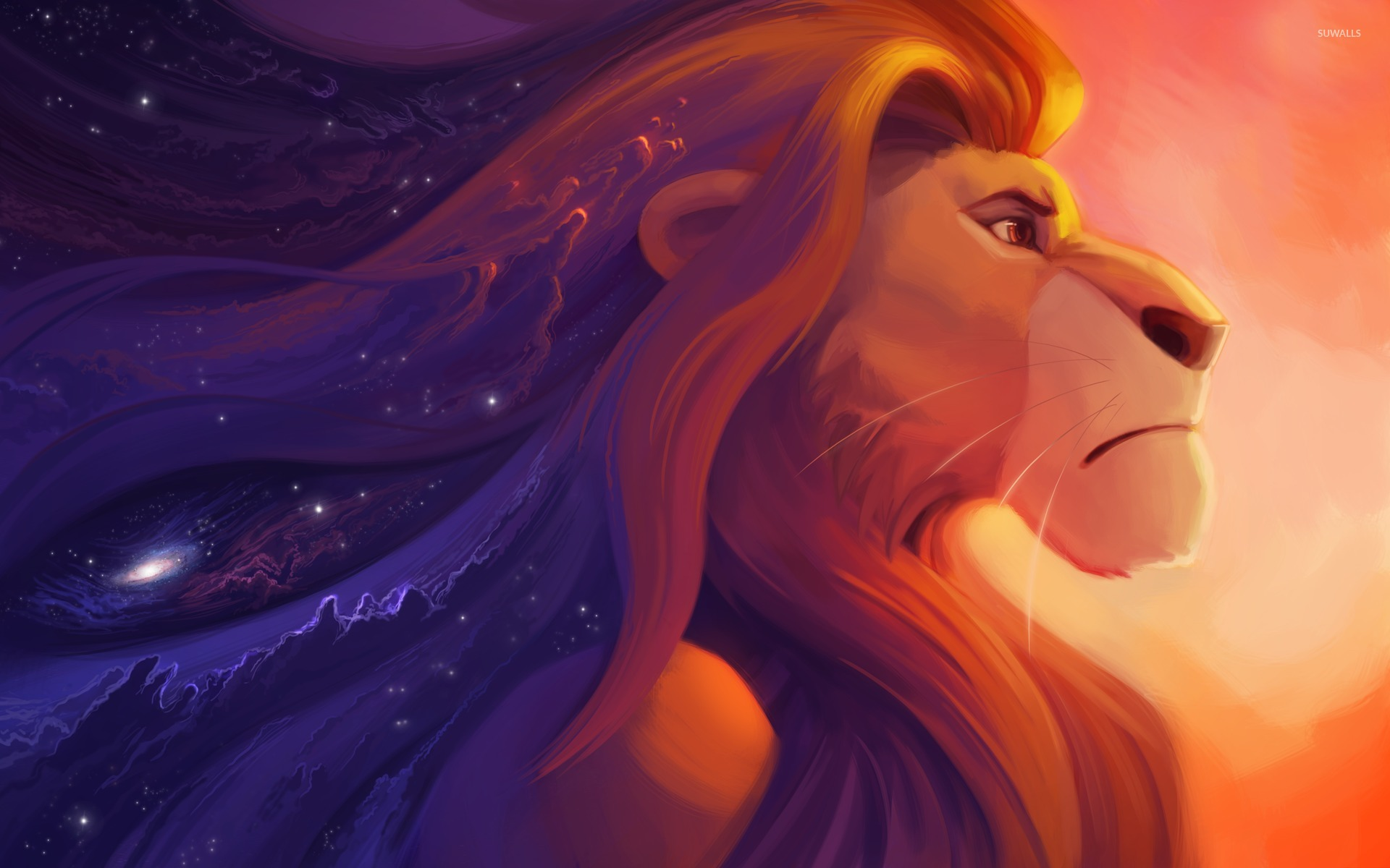 Mufasa From The Lion King Wallpaper