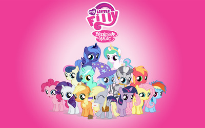 My Little Filly Friendship is Magic wallpaper