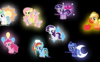 My Little Pony wallpaper 3840x2160 jpg