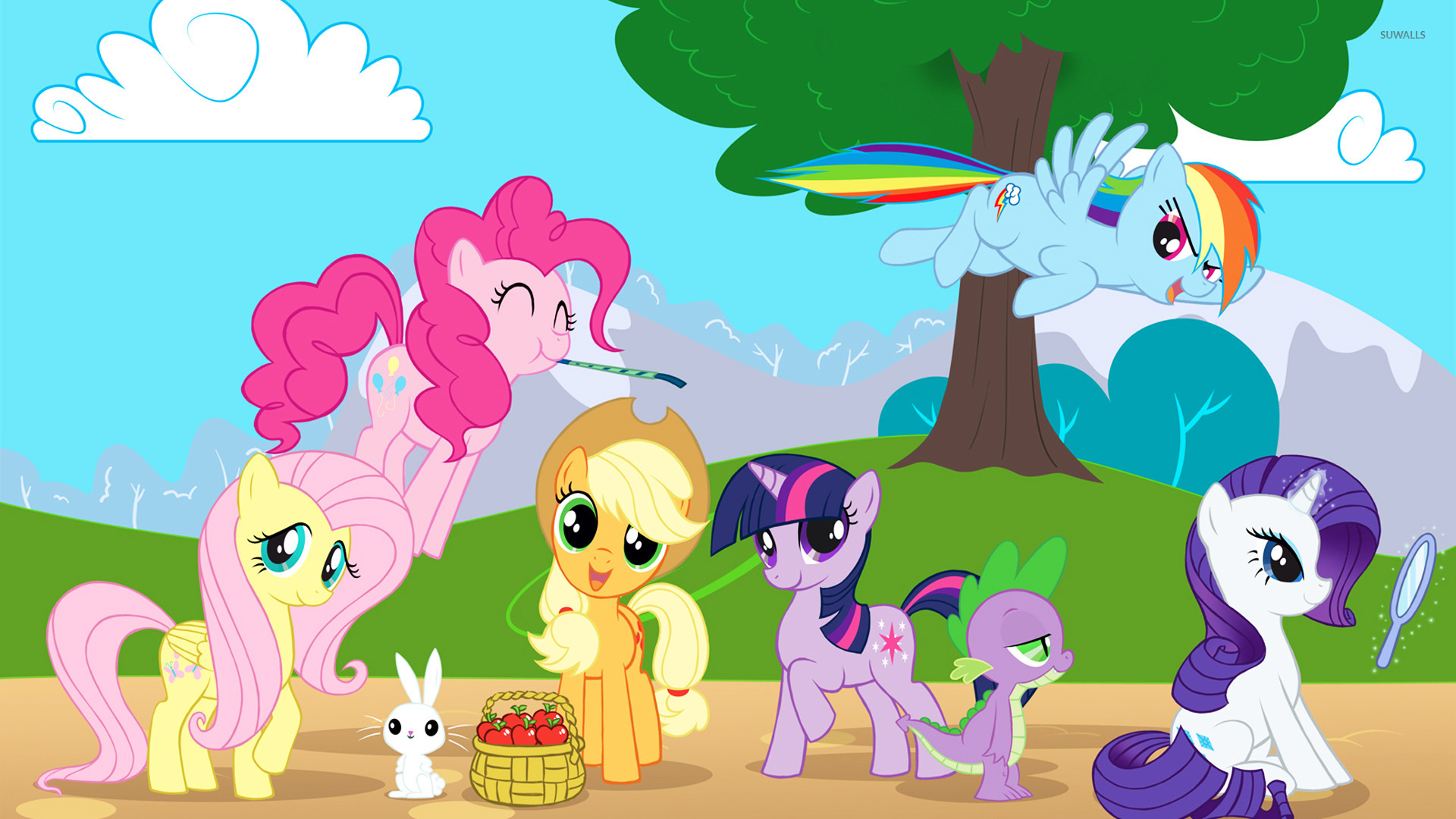 My Little Pony Friendship Is Magic 8 Wallpaper Cartoon