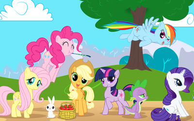 My Little Pony Friendship is Magic [8] wallpaper