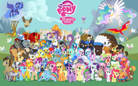 My Little Pony Friendship is Magic [2] wallpaper 1920x1200 jpg