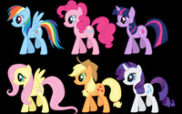 My Little Pony Friendship is Magic [5] wallpaper 2560x1600 jpg
