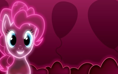 Neon pink Pinkie Pie - My Little Pony wallpaper