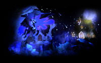 Nightmare Moon - My Little Pony Friendship is Magic wallpaper 2560x1600 jpg