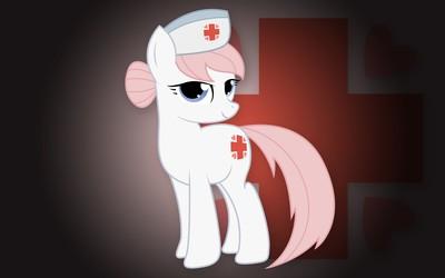 Nurse Redheart wallpaper
