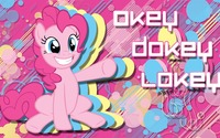 Okey dokey lokey - Pinkie Pie, My Little Pony wallpaper 1920x1080 jpg