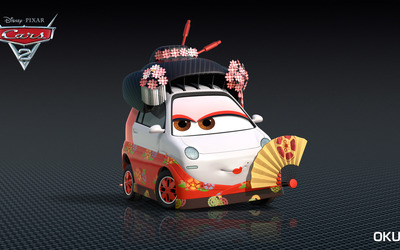 Okuni - Cars 2 wallpaper