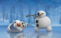 Olaf - Frozen wallpaper 2560x1440 jpg