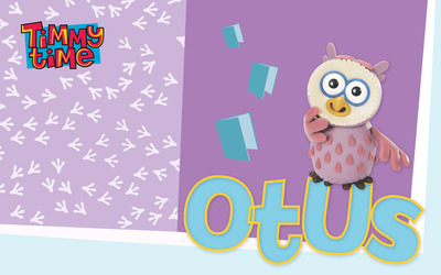 Otus - Timmy Time wallpaper