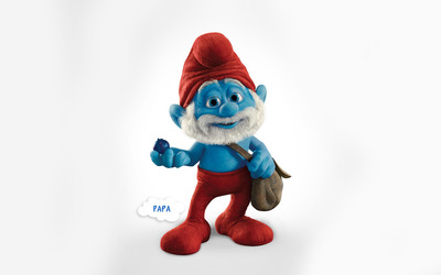 Papa - The Smurfs 2 wallpaper