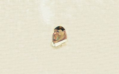 Peter Griffin painting wallpaper