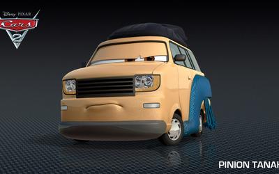 Pinion Tanaka - Cars 2 wallpaper
