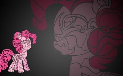 Pinkie Pie art - My Little Pony wallpaper