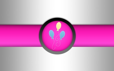 Pinkie Pie balloons cutie mark - My Little Pony wallpaper