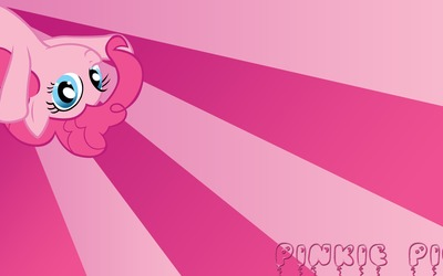 Pinkie Pie balloons - My Little Pony wallpaper