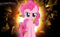 Pinkie Pie breaking a glass - My Little Pony wallpaper 1920x1080 jpg