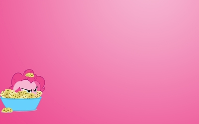 Pinkie Pie in a bowl - My Little Pony wallpaper