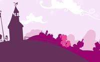 Pinkie Pie in a pink town - My Little Pony wallpaper 1920x1080 jpg