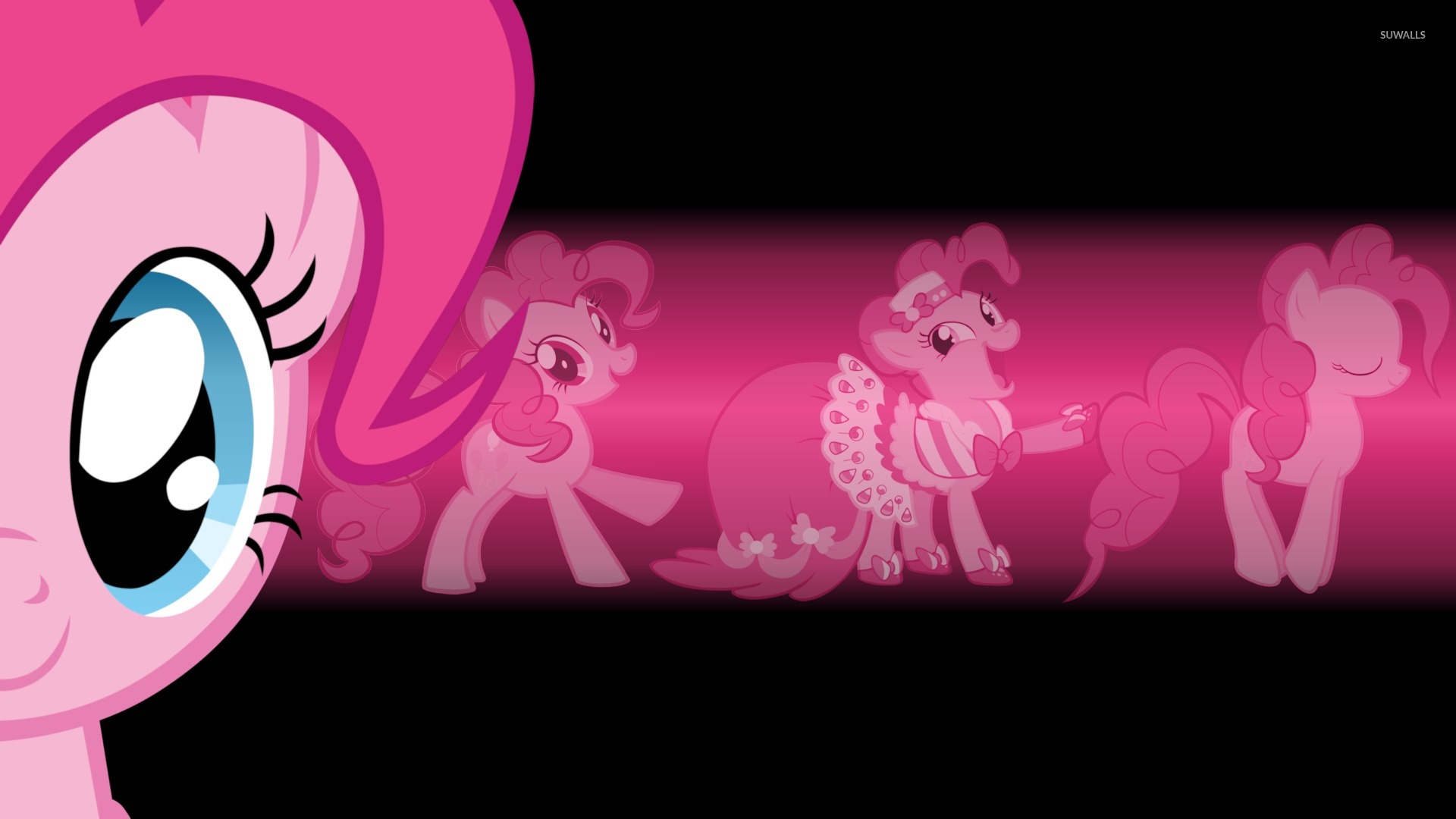Pinkie Pie In A Princess Dress My Little Pony Wallpaper